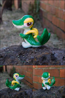 PKMN: Snivy or Tsutarja by yingmakes