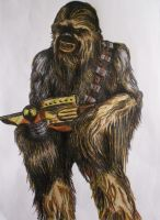 Chewbacca by DustyPaintbrush