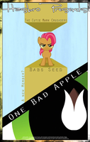 MLP : One Bad Apple - Movie Poster by pims1978