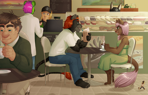 BB's coffee shop by Gusana