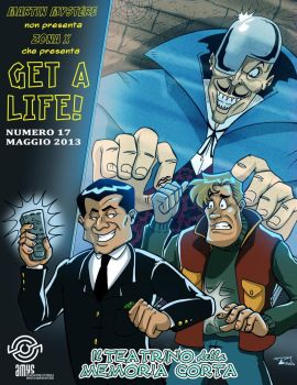 Get a Life 17 - copertina by martin-mystere