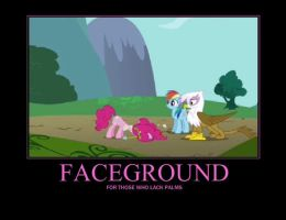 Face ground by Logano24
