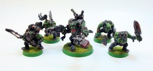 Warhammer 40,000 Ork Kill Team by NicholasKay