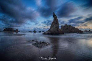 Bandon Sunset by o0oLUXo0o