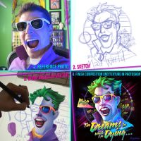 80's Albums Series Process by RockyDavies
