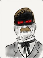 ''John D. Rockefeller: Cynical Oil Tycoon'' by ENDYS-ART-HELL