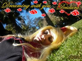 Deidara- Dreaming with you by aomehigurashi258