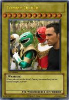 YUGIOH CARD : Tommy Oliver by MRG93