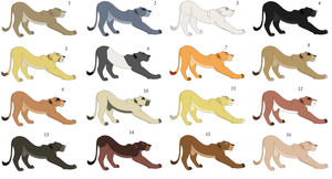 HUGE LIONESS ADOPTABLES SHEET- CLOSED by Adoptable-Quality
