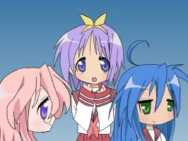 Lucky Star! by sarahthemerp
