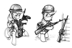 Applejack Military Uniforms, Part 2 by buckweiser