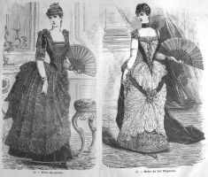 Salon de la Mode 18th Jan 1886 Ladies image by kirilee