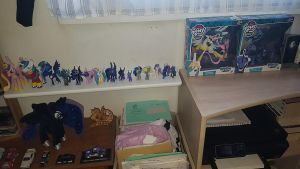 My figurines collection of My Little Pony (02) by cedricc666