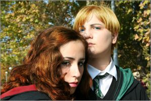 I'll save you _ Draco x Hermione Cosplay by equiclubecastello