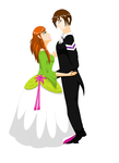 Couple dancing Suzie and Lorens ANIMATED by Beatrice-Dragon-Team