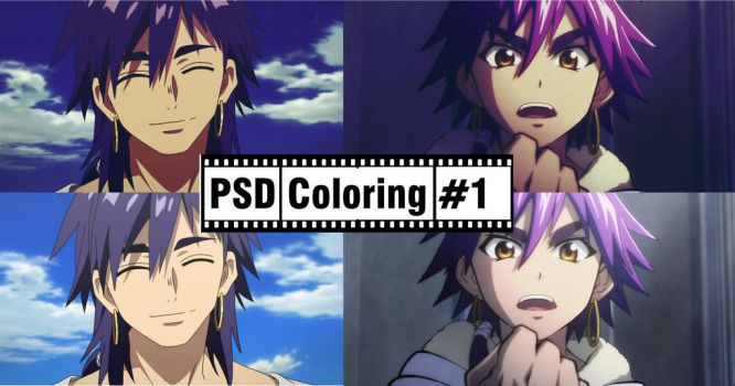 PSD Coloring 1 by CleverManh