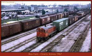 Box Cars by classictrains