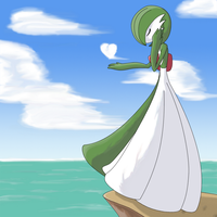 Gardevoir - Gentle Winds by ShinjiYuurei