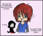 Why Harry isn't a red head by Willowsama