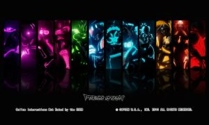SSF4 AE Tron Title by Augh