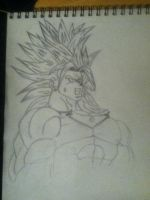 Broly - Work in Progress by ArturiaofCamelot