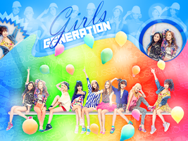 +Girls Generation by WhySoSeriousSB