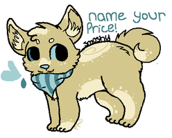 Shibu adopt #8 - Name Your Price - OPEN! by Purr-Adopts