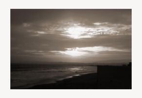 Sepia Sunset by mentallydeceased