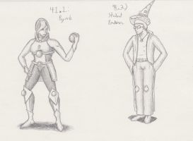 Figure 41 - Psyorb and Student Ponderer by TheHiddenElephant