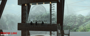 Pteratops Lodge Bar by ComputerGenius