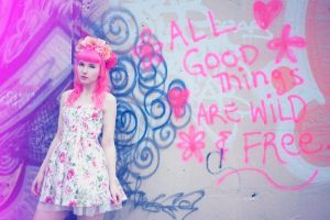 All Good Things Are Wild And Free by Vinyl-Disco