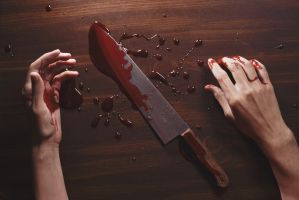 Blood on my Hands by KingFamine