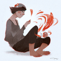 Conjure: Tea by trisketched