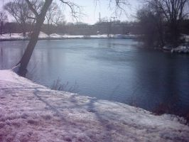 Winters river by Names-Tailz