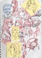 More n MORE SKETCHES by AndreBarnwell