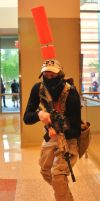 Phoenix Comicon 2011 PMC MGS4 by Recycledhero