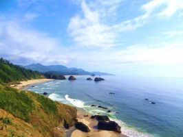 Oregon Coast - Ecola State Park by UrbanZombie
