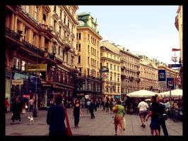 Wien in Summer by LussiaD
