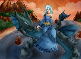Serene and Leviathan by rithgroove