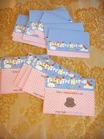 Tacky Top Hat Tags + Labels by deconstructedstars