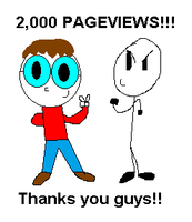 2,000 Pageviews! by jakelsm