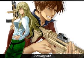 [Jormungand] Team Bookman by phile9