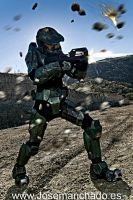 HALO master chief 02 by josemanchado