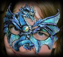 Ice Dragon Mask by Namingway