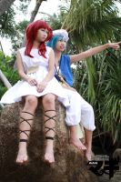 Look Over There - Magi Cosplay by vividplus