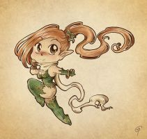 Chibi Elf by TheWitchOfOz