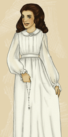 Evelyns first communion - by JosieCarioca