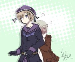 Hetalia - Norway and Iceland Redraw by Nekomiira