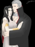Hidan and Syrune by AnimeFreak00910