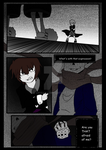 An UNDERTALE comic by Crossoverdude